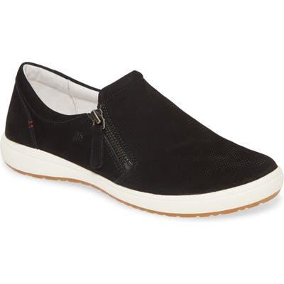 Josef Seibel Caren 22 Sneaker, Black