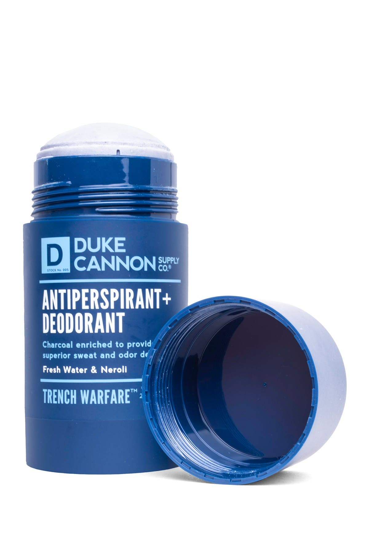 Image of DUKE CANNON Trench Warfare Antiperspirant + Deodorant - Fresh Water + Neroli