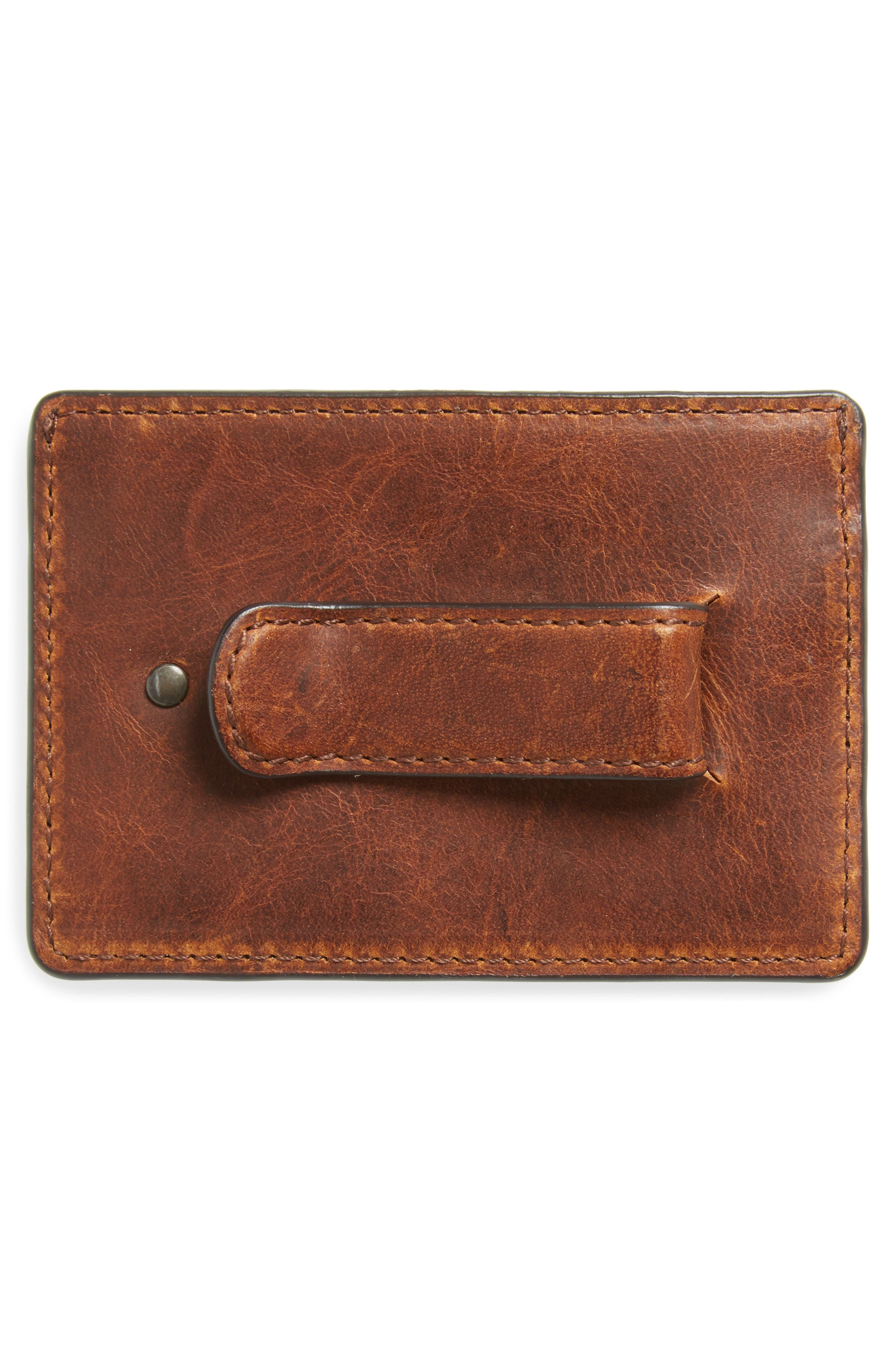 ,                             Logan Leather Money Clip Card Case,                             Alternate thumbnail 4, color,                             235