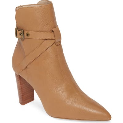 Paige Camille Pointed Bootie- Brown