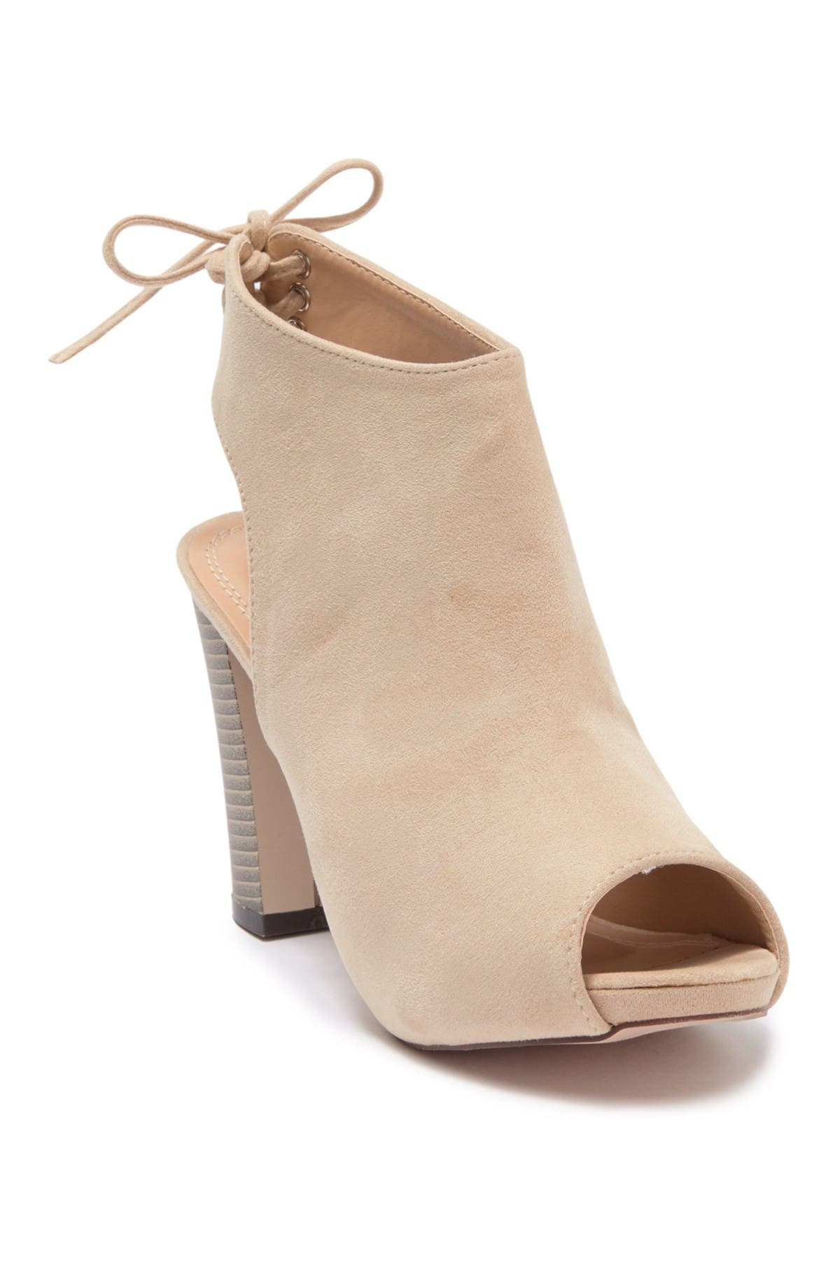 Image of Chase & Chloe Marcy Cutout Bootie
