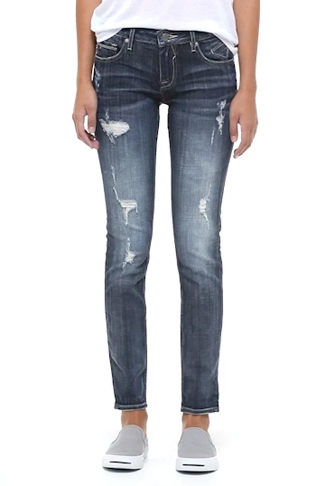 ,                             'Thompson Tomboy' Crop Jeans,                             Alternate thumbnail 6, color,                             426