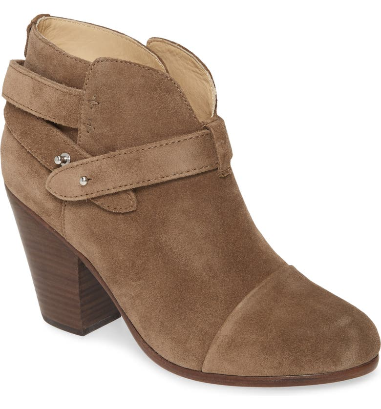 RAG & BONE 'Harrow' Leather Boot, Main, color, TAUPE SUEDE