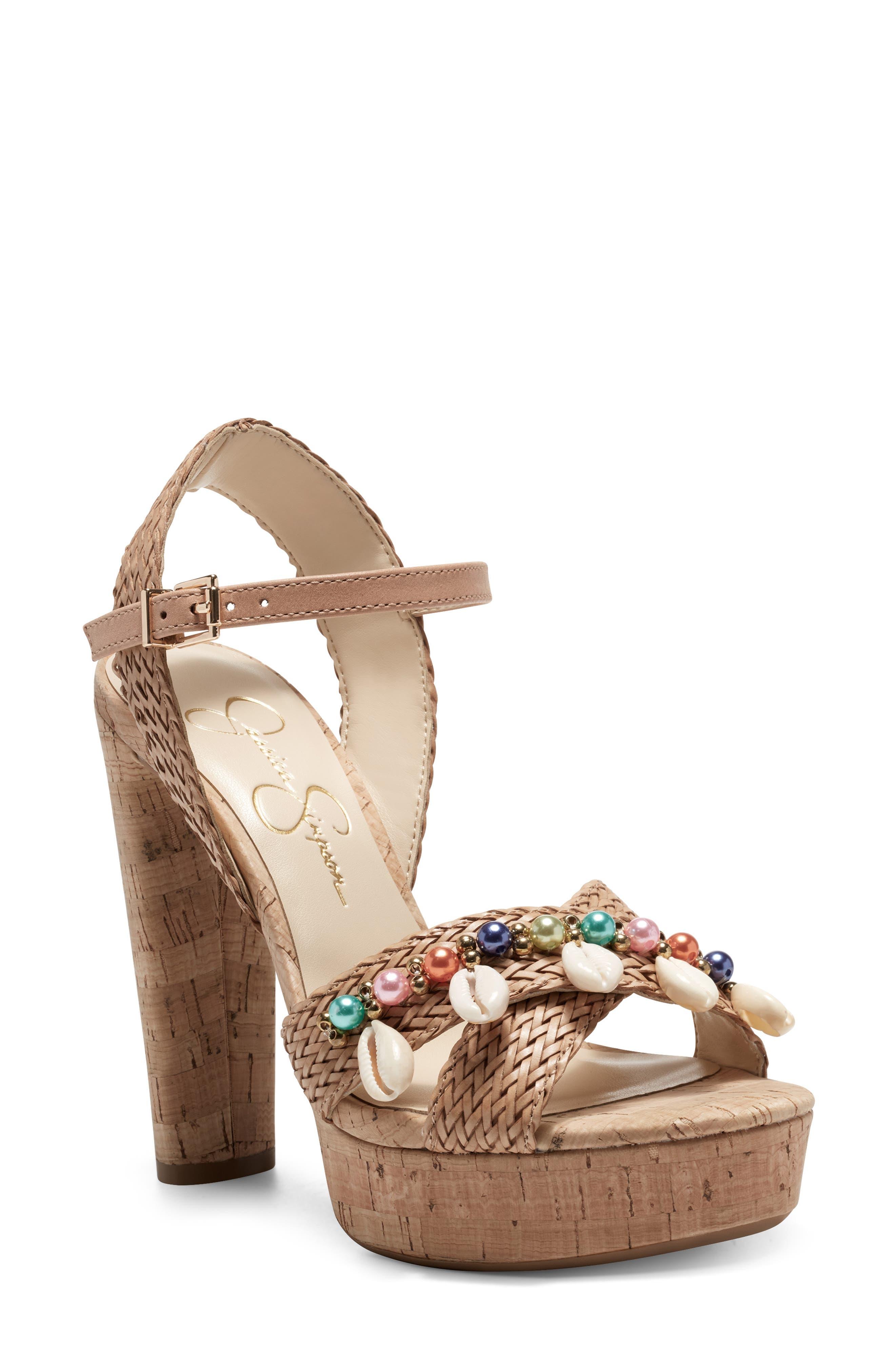 Ivriele Embellished Pump Sandal