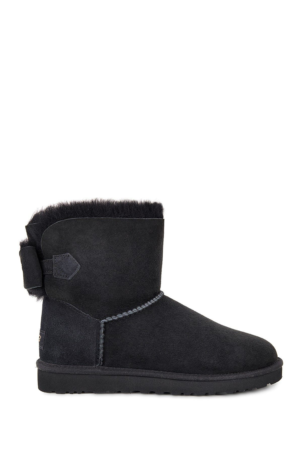 UGG   Naveah Genuine Shearling Bow Boot