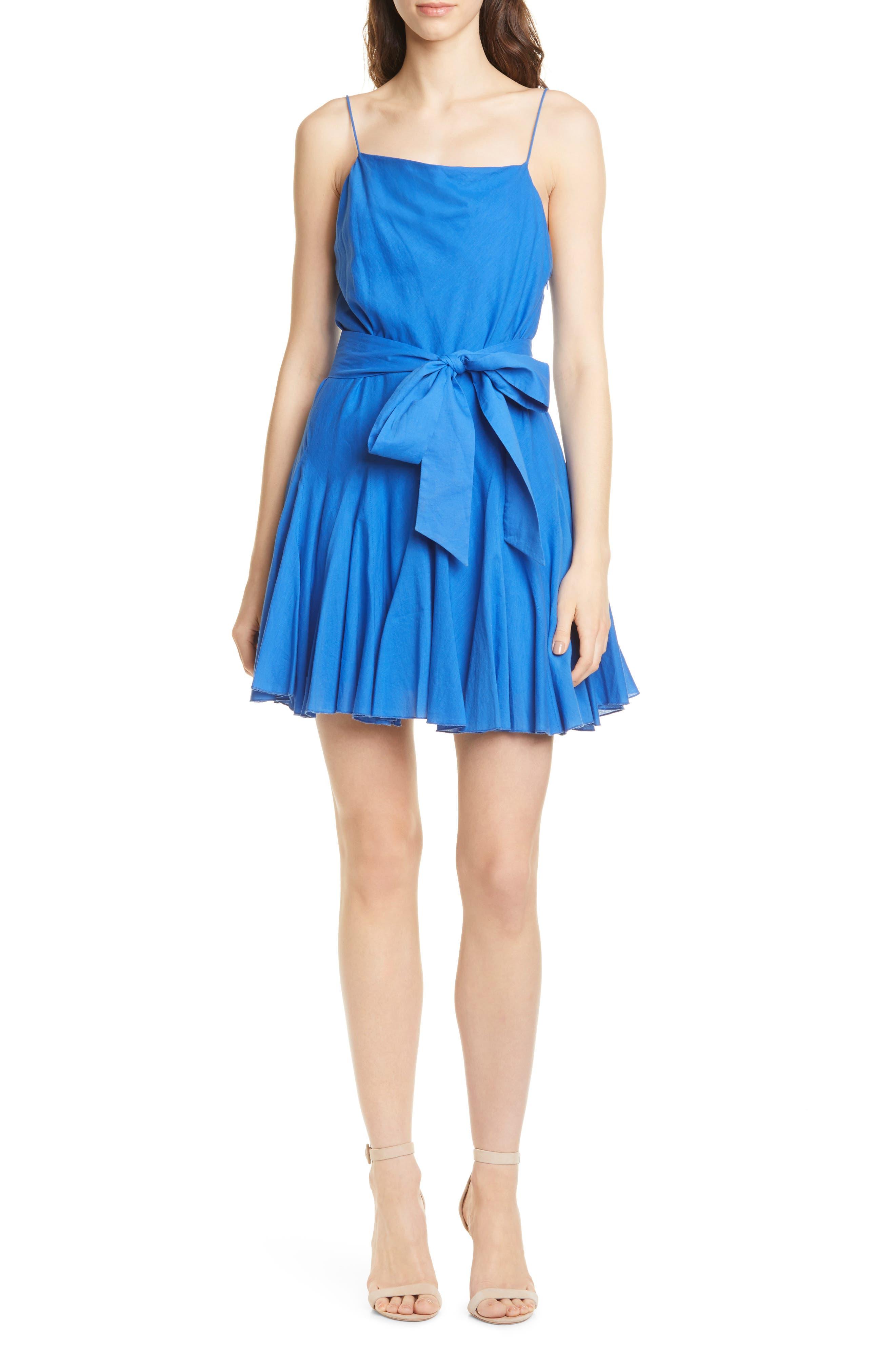 Alice + Olivia Webber Minidress, Blue