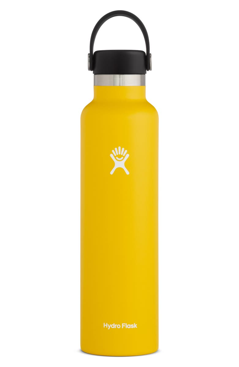 HYDRO FLASK 24-Ounce Standard Mouth Bottle, Main, color, SUNFLOWER