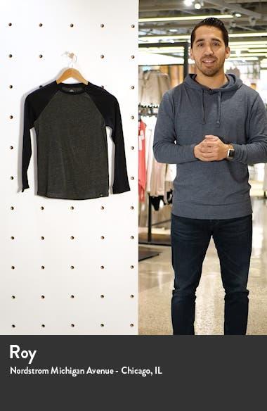 Kids' Raglan Sleeve Cotton Blend T-Shirt, sales video thumbnail