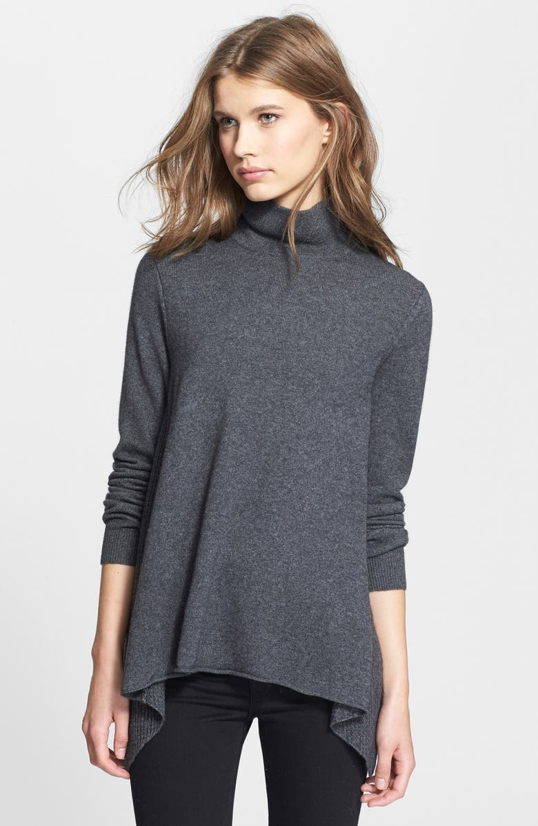 JOIE 'Letitia' Wool & Cashmere Mock Neck Sweater, Main, color, 076
