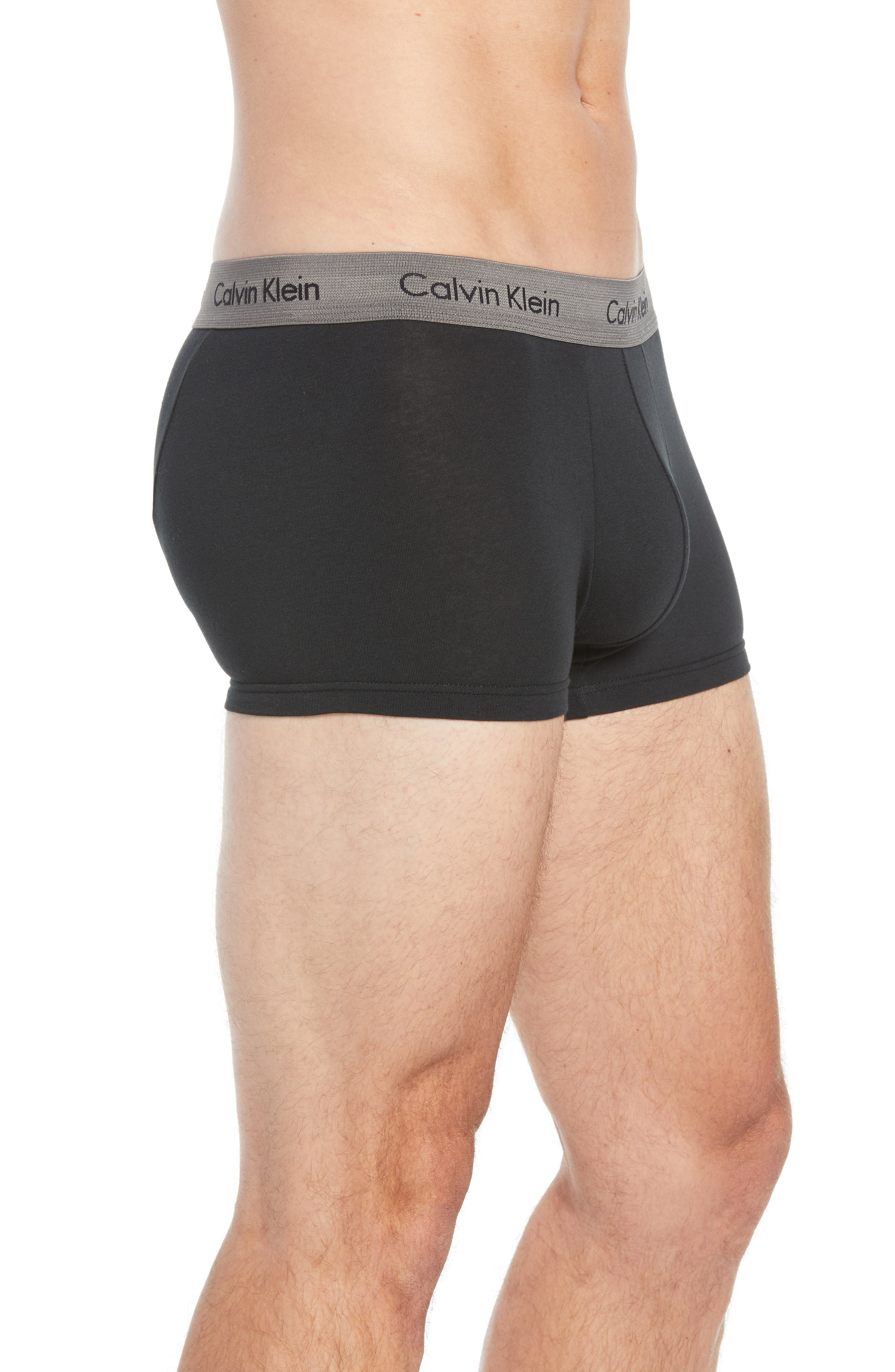 ,                             3-Pack Stretch Cotton Low Rise Trunks,                             Alternate thumbnail 52, color,                             014