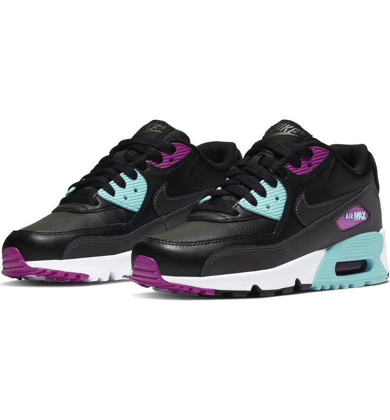 NIKE Air Max 90 Sneaker, Main, color, 002