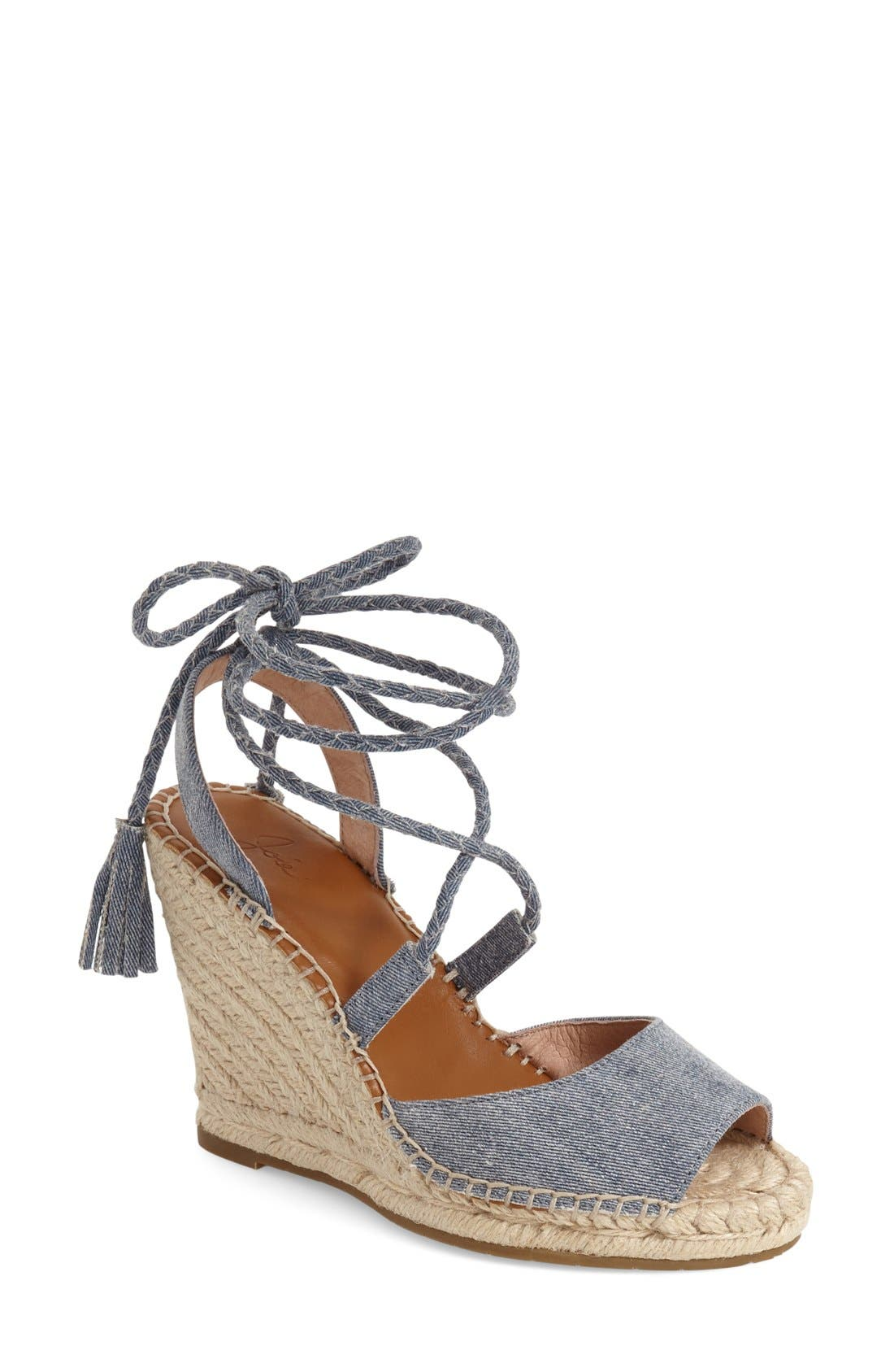 ,                             'Phyllis' Espadrille Wedge,                             Main thumbnail 11, color,                             407