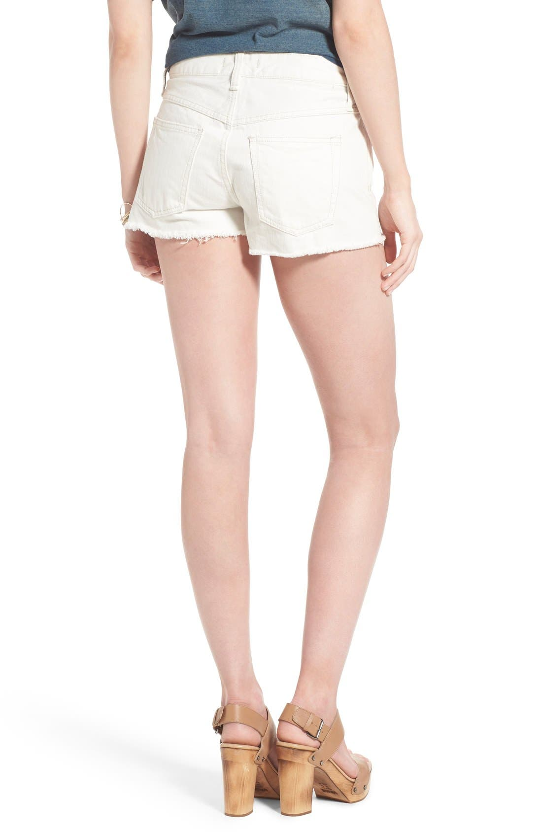 ,                             'Uptown' Denim Shorts,                             Alternate thumbnail 11, color,                             137