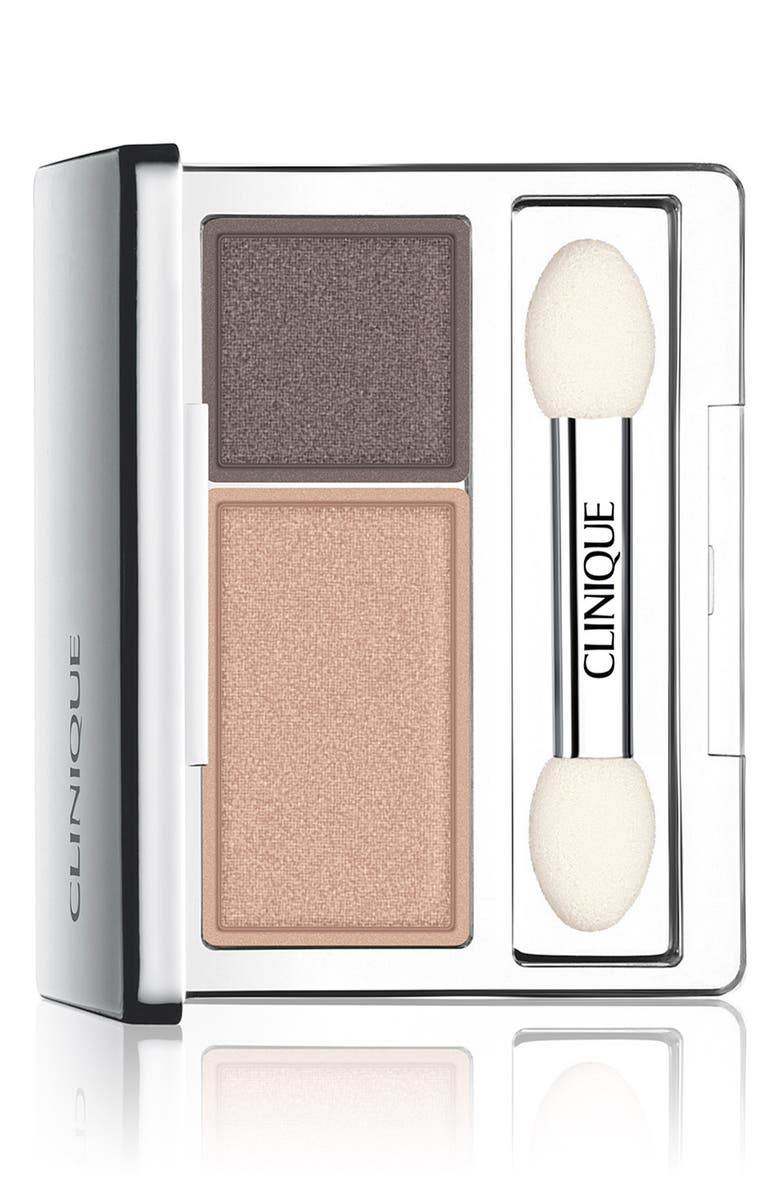 CLINIQUE All About Shadow Eyeshadow Duo, Main, color, NEUTRAL TERRITORY