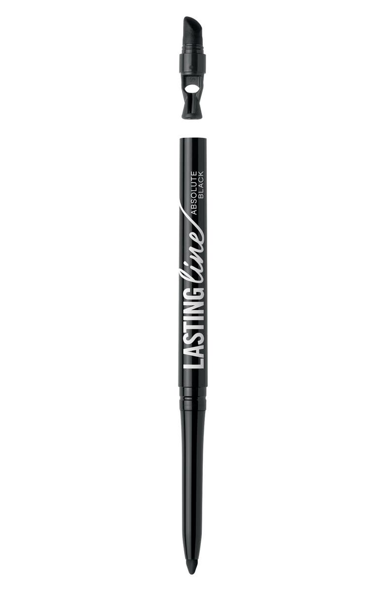 BAREMINERALS<SUP>®</SUP> Lasting Line<sup>™</sup> Long-Wearing Eyeliner, Main, color, ABSOLUTE BLACK