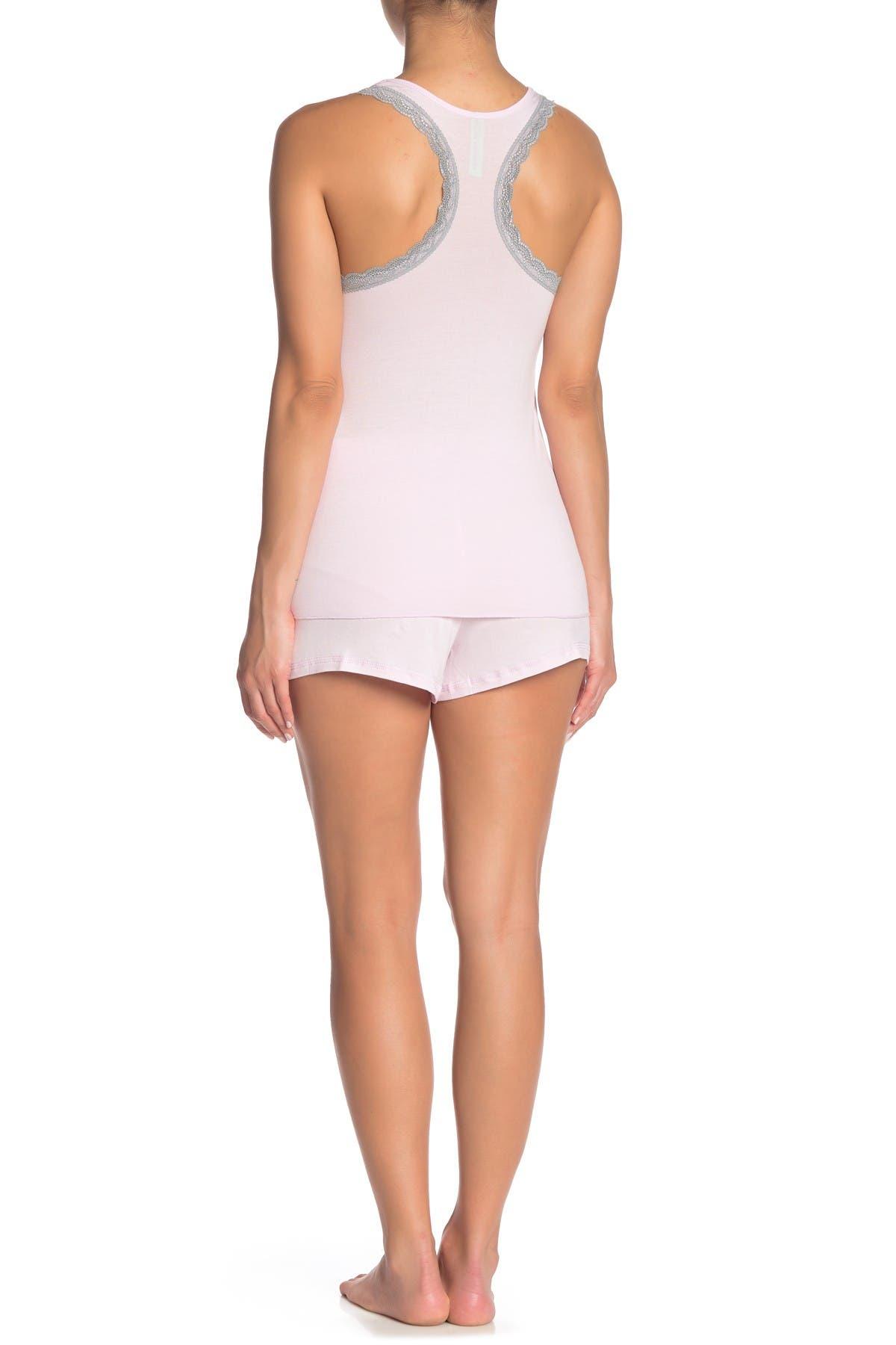 Honeydew Intimates All American Racerback Tank & Shorts 2-Piece Pajama Set