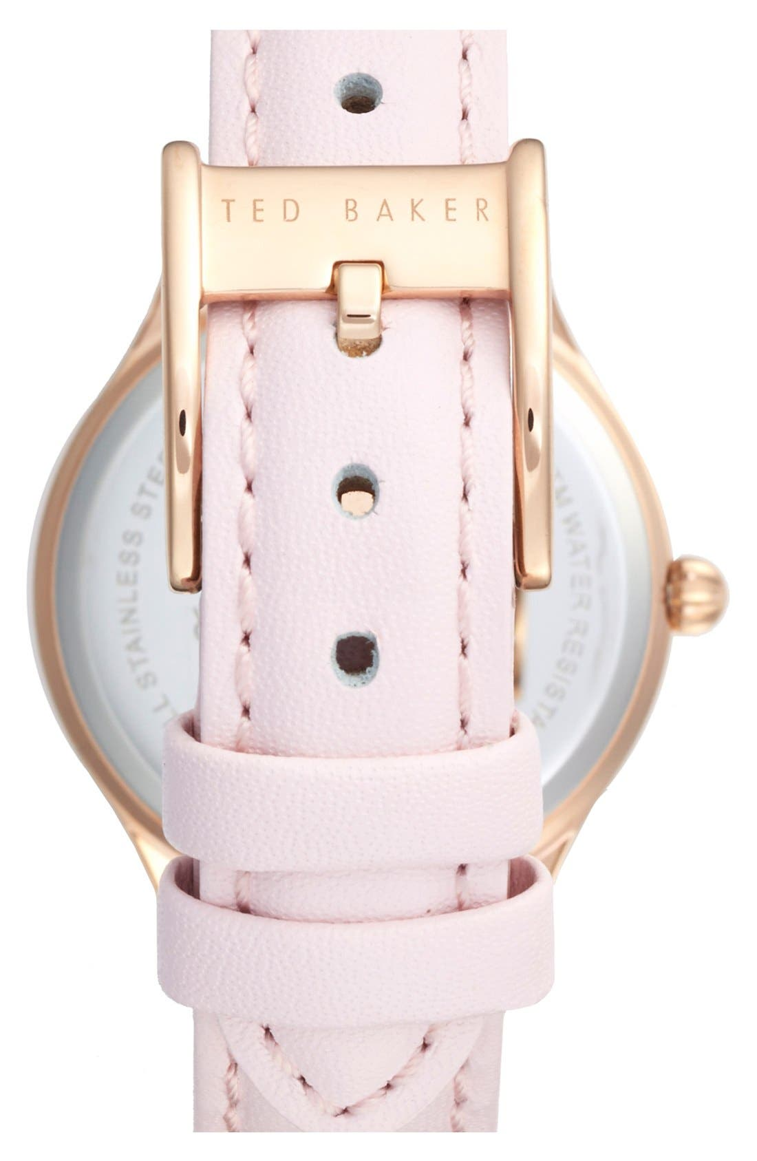 ,                             'Dress Sport' Leather Strap Watch, 32mm,                             Alternate thumbnail 5, color,                             650