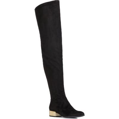 Geox Peython Over The Knee Boot - Black