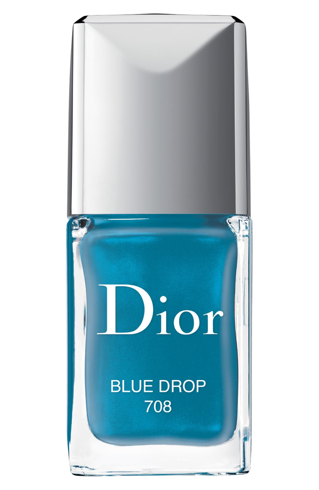 Vernis Gel Shine & Long Wear Nail Lacquer, Main, color, 708 BLUE DROP