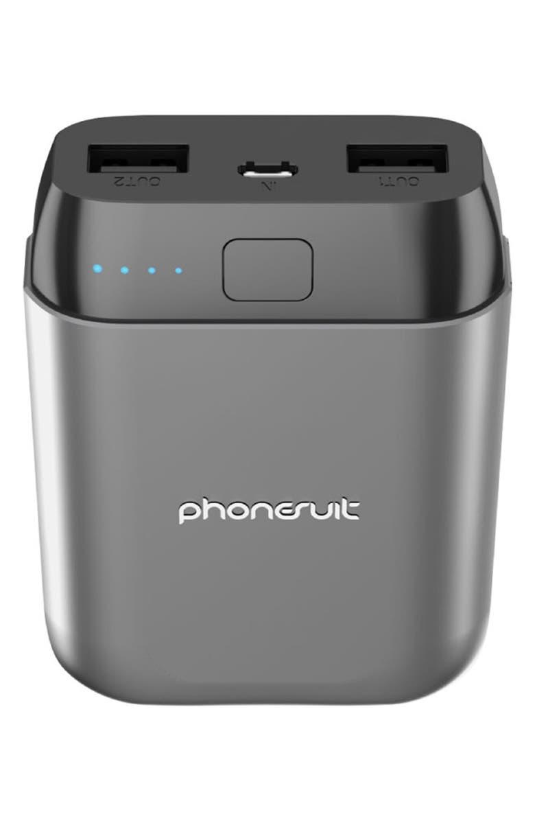 PHONESUIT Energy Core Studio 10,000 mAh Battery Pack, Main, color, 020