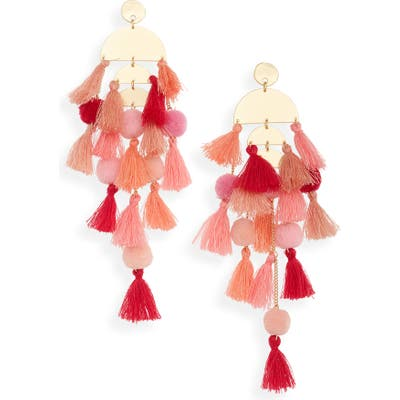 Stella + Ruby Calypso Tassel Earrings