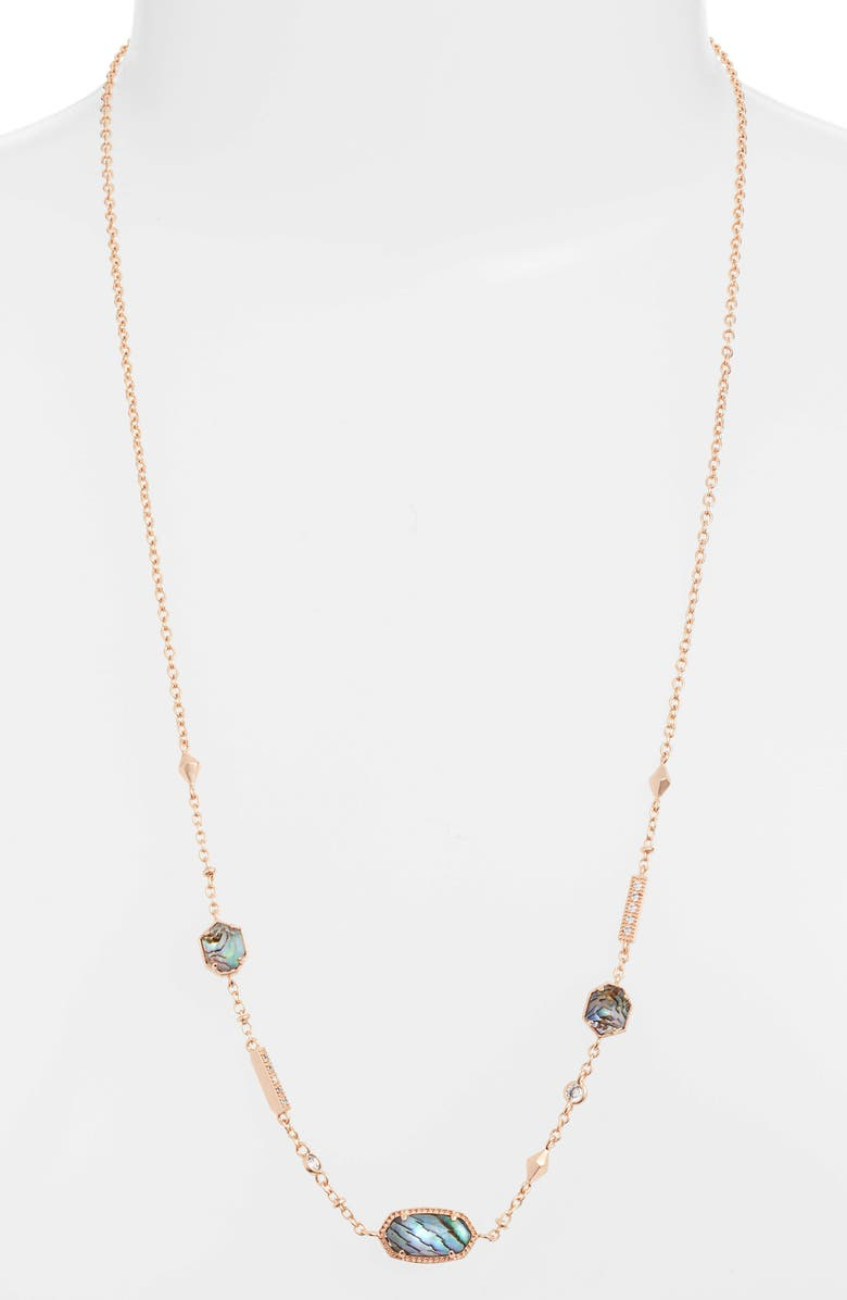 Kendra Scott Maddie Long Station Necklace