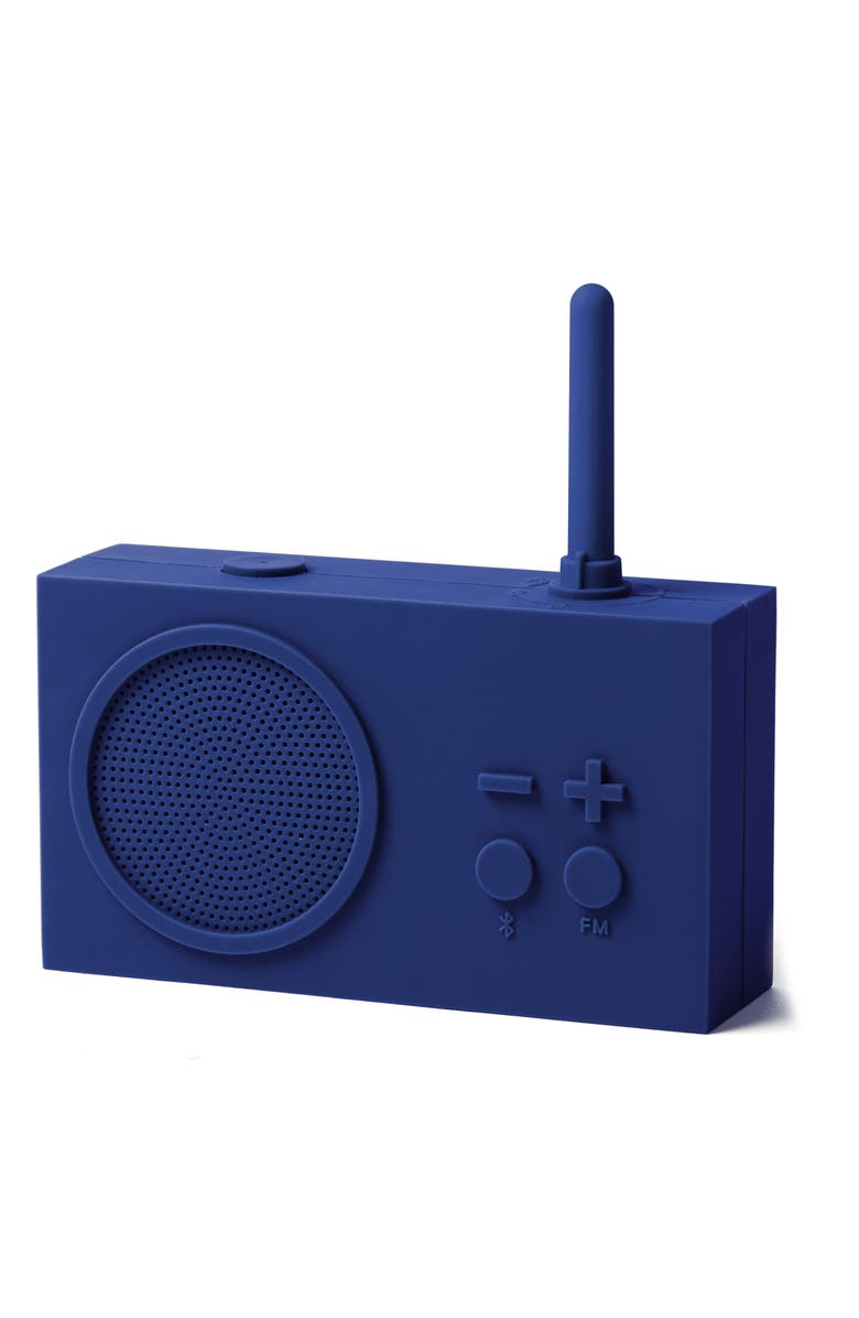 LEXON Tykho 3 FM Radio & Bluetooth<sup>®</sup> Speaker, Main, color, DARK BLUE
