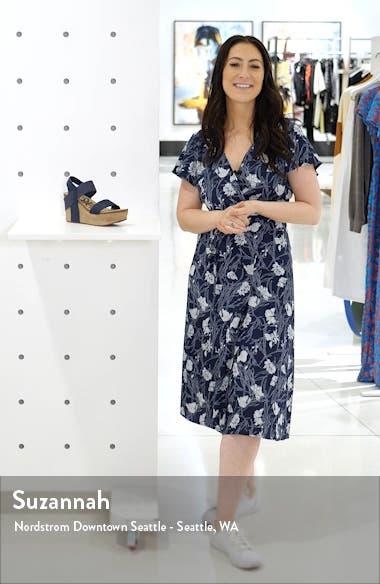 'Bushnell' Wedge Sandal, sales video thumbnail