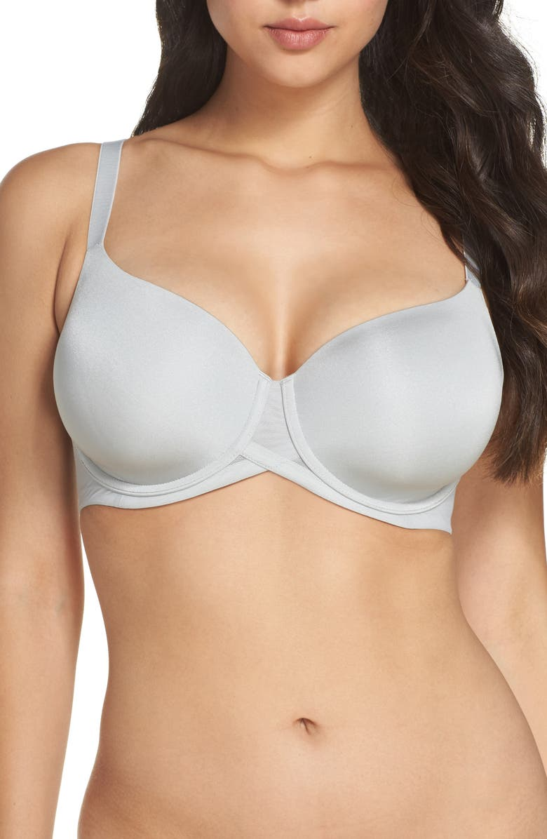 WACOAL Ultimate Side Smoother Underwire T-Shirt Bra, Main, color, HI RISE