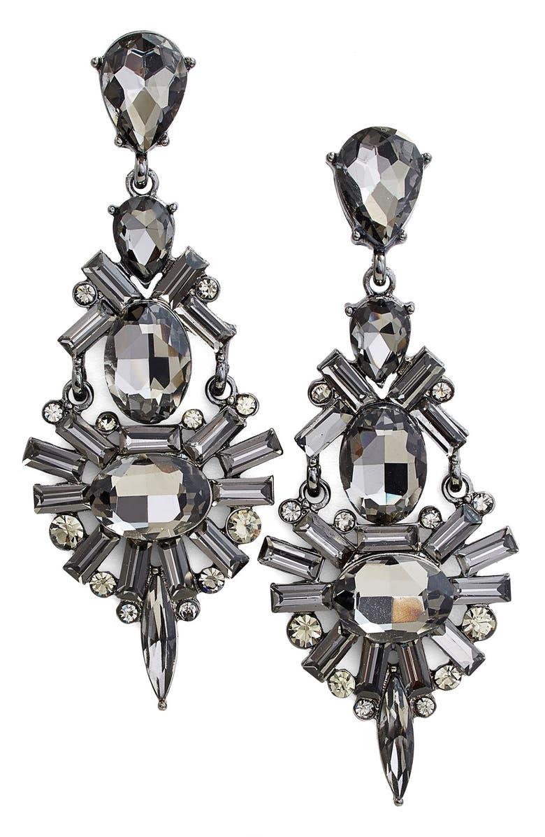 TASHA Chandelier Earrings, Main, color, 001