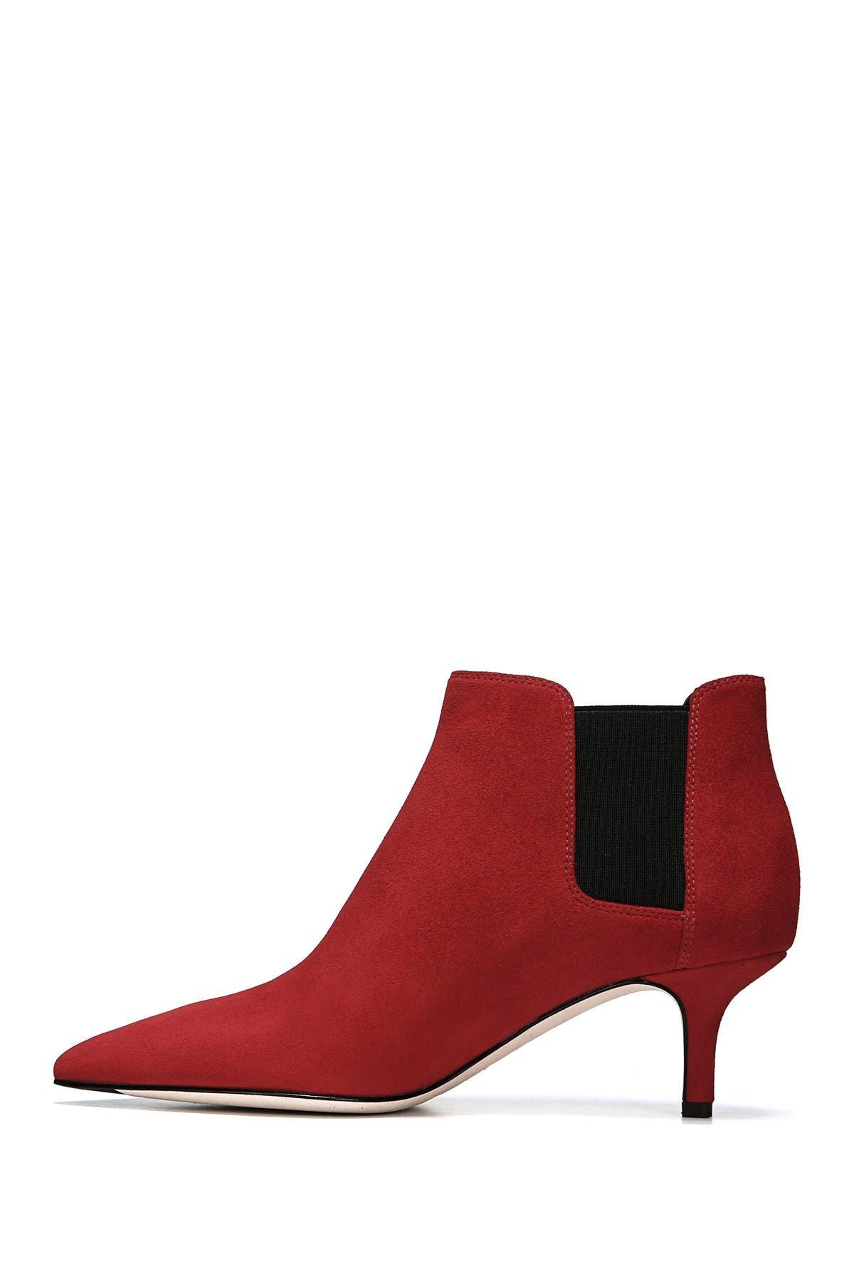 Maeve Suede Kitten Heel Ankle Boot