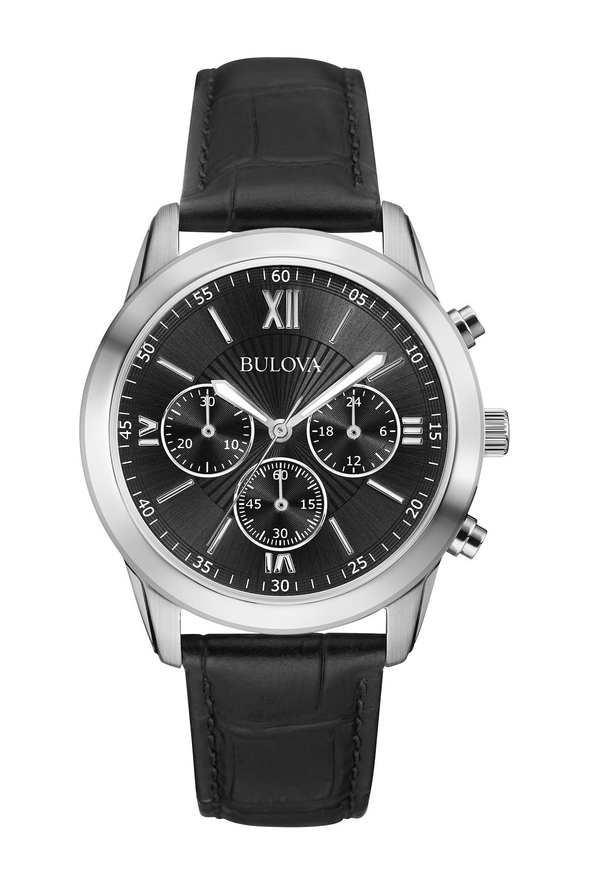 Image of Bulova Men's Chronograph Quartz Watch, 40mm