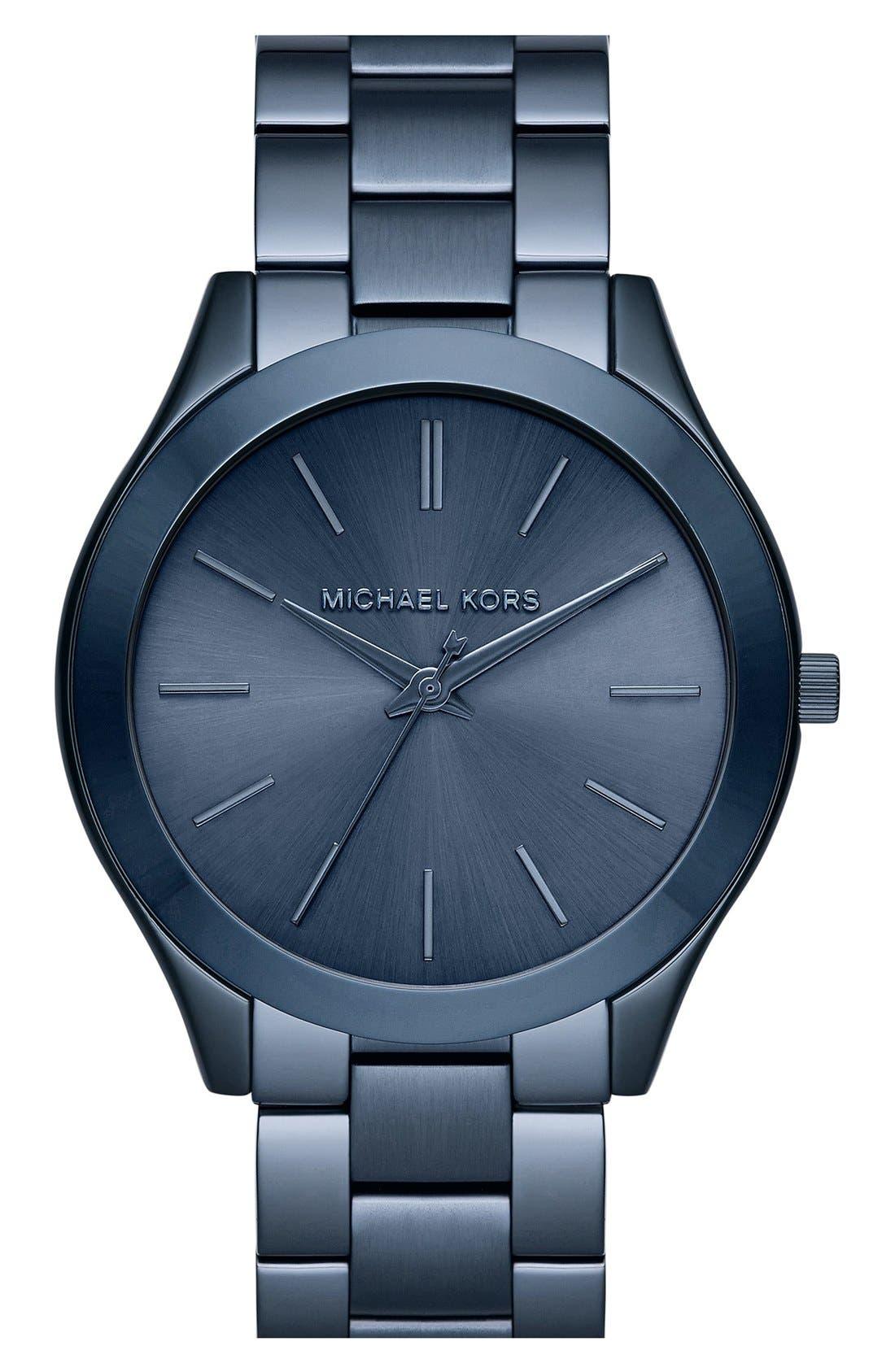 ,                             'Slim Runway' Bracelet Watch, 42mm,                             Main thumbnail 31, color,                             400
