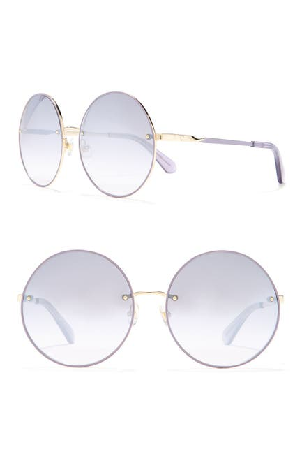 Image of kate spade new york 59mm Round Sunglasses