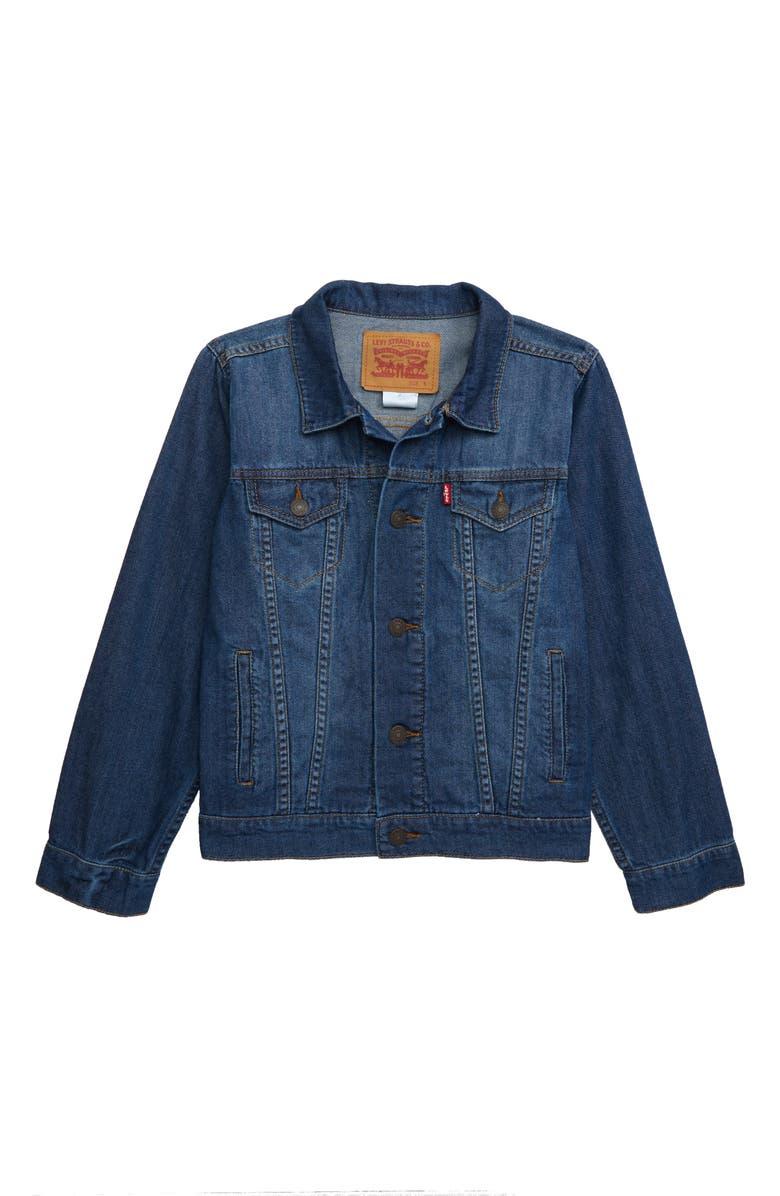 LEVI'S<SUP>®</SUP> Lightweight Denim Jacket, Main, color, 402