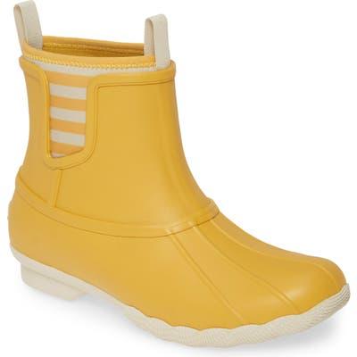 Sperry Saltwater Chelsea Duck Boot, Yellow