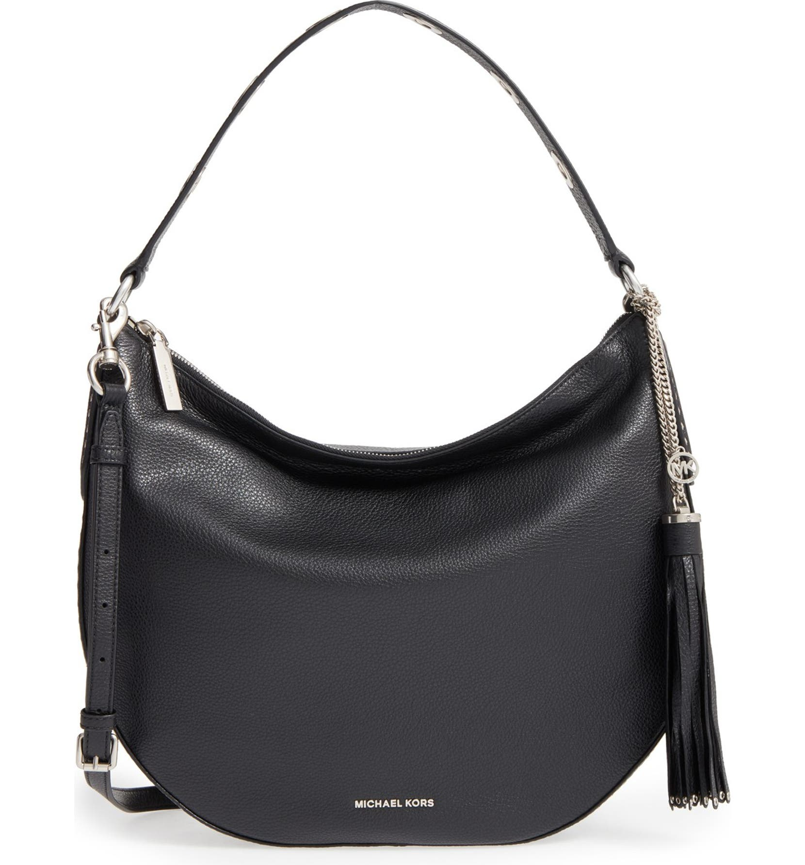 24a503ccfb62 MICHAEL Michael Kors 'Large Brooklyn' Convertible Leather Hobo   Nordstrom