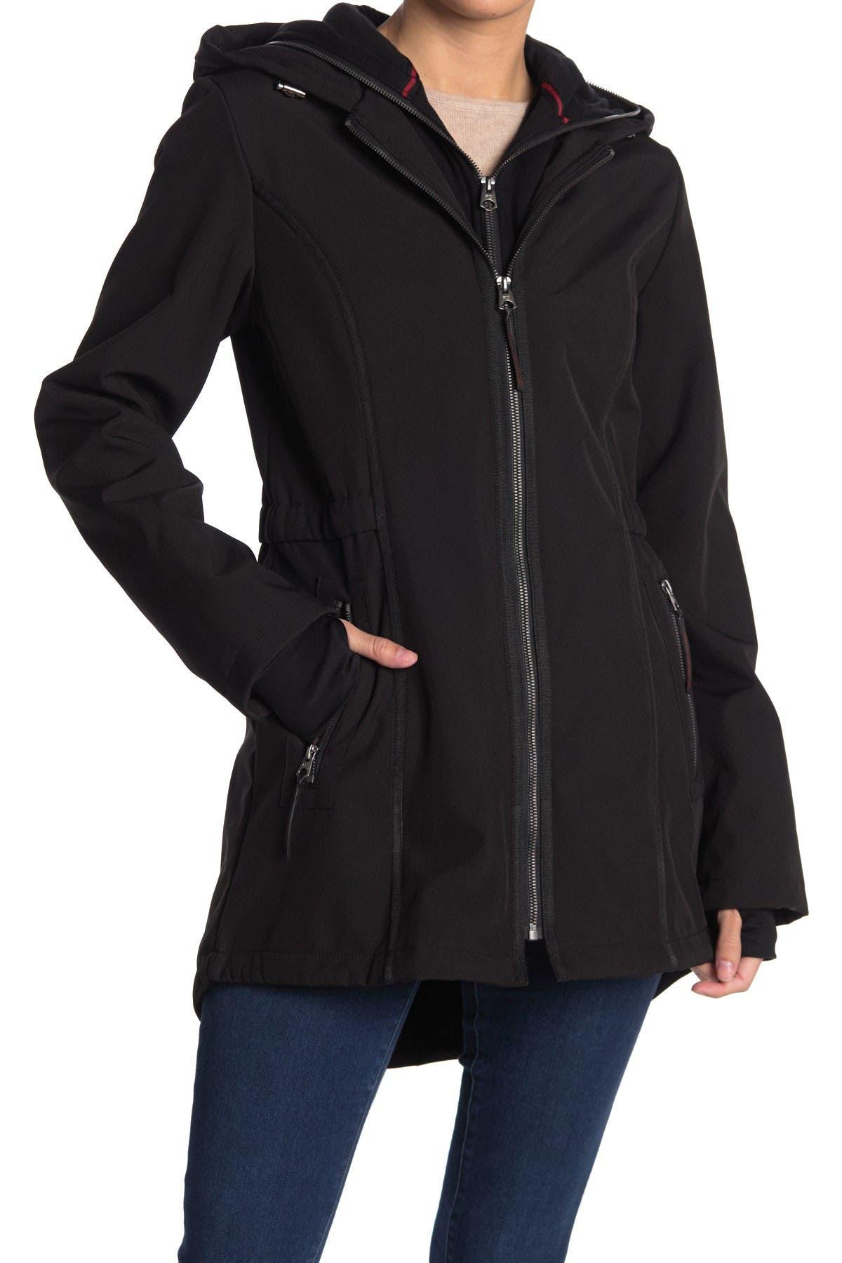 Image of French Connection Softshell Sweatshirt Bib Jacket