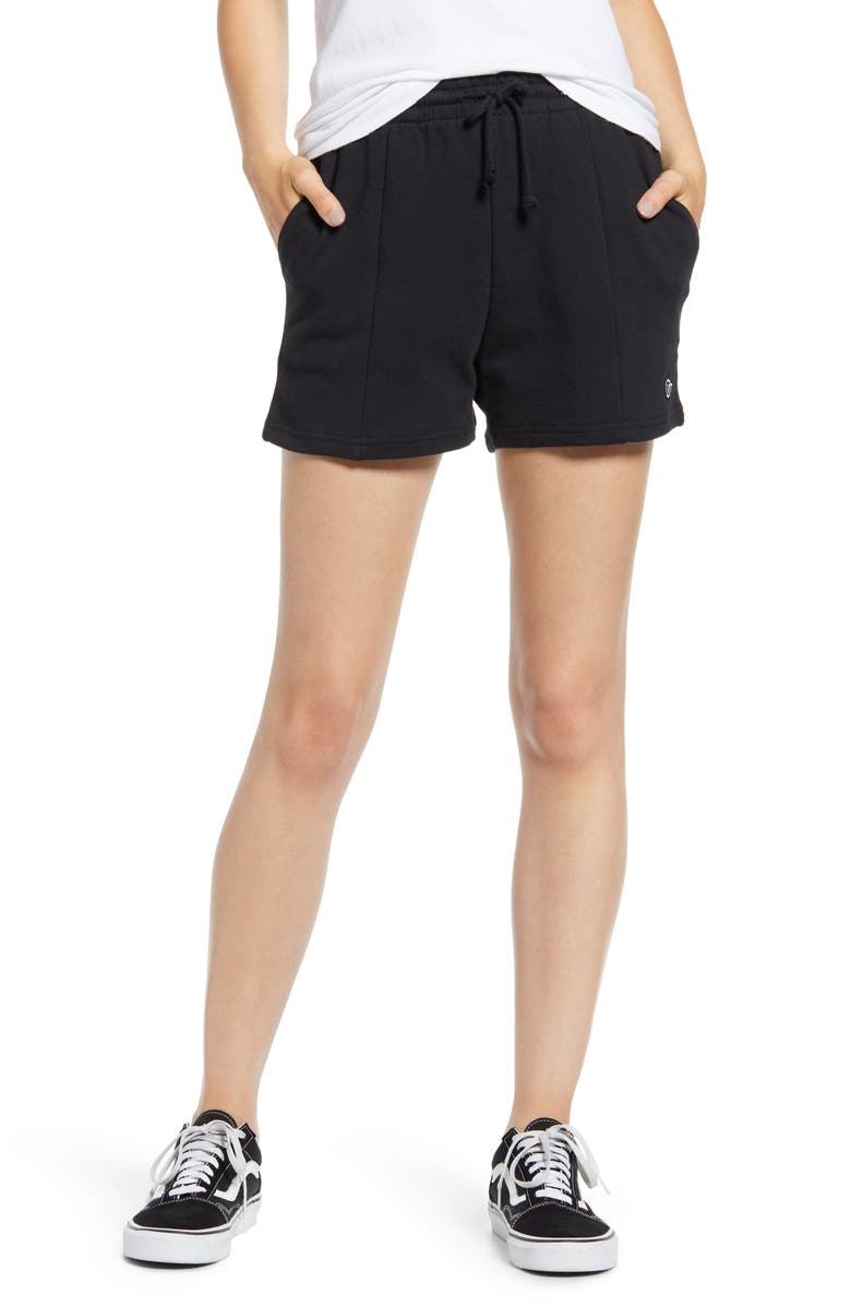 VANS Straightened Out Shorts, Main, color, BLACK