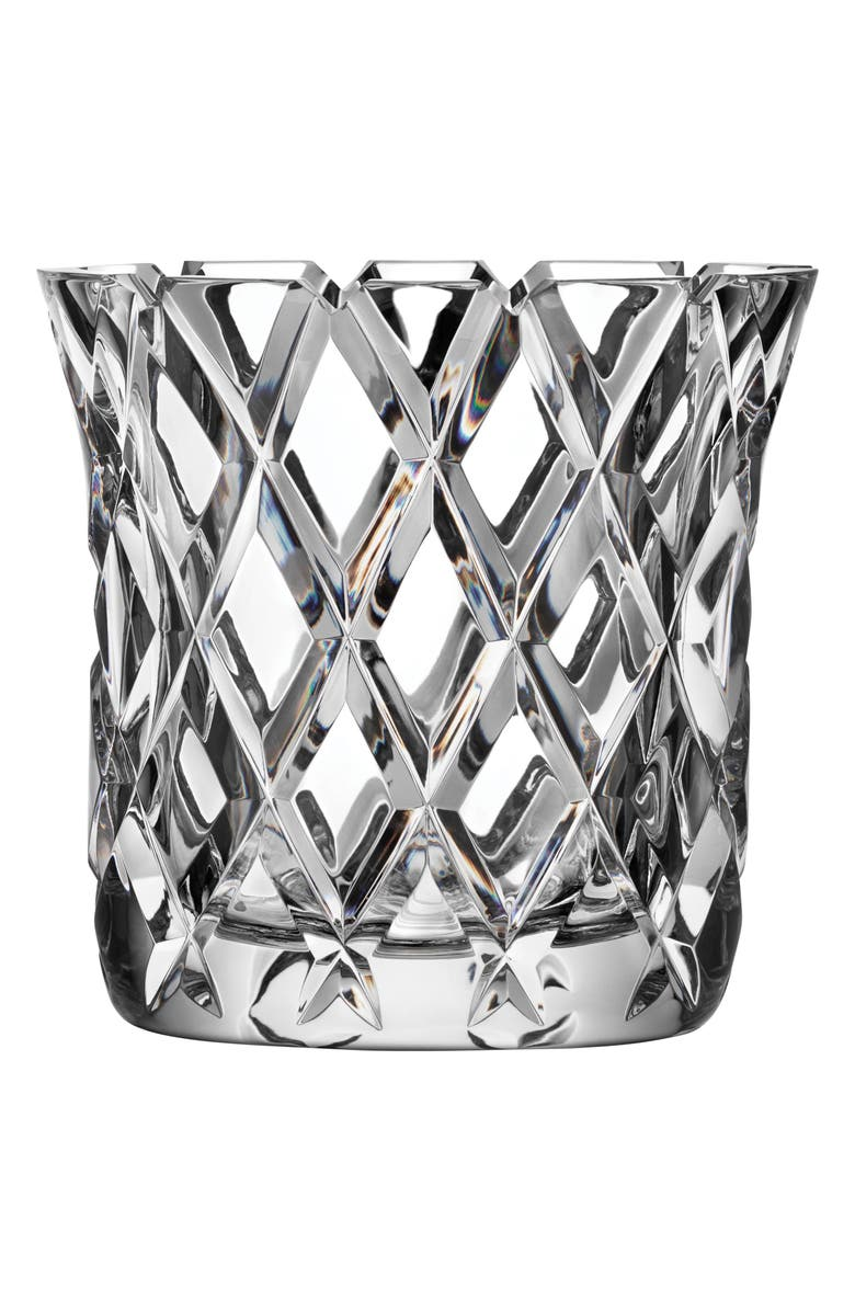 ORREFORS Sofiero Lead Crystal Vase, Main, color, 100