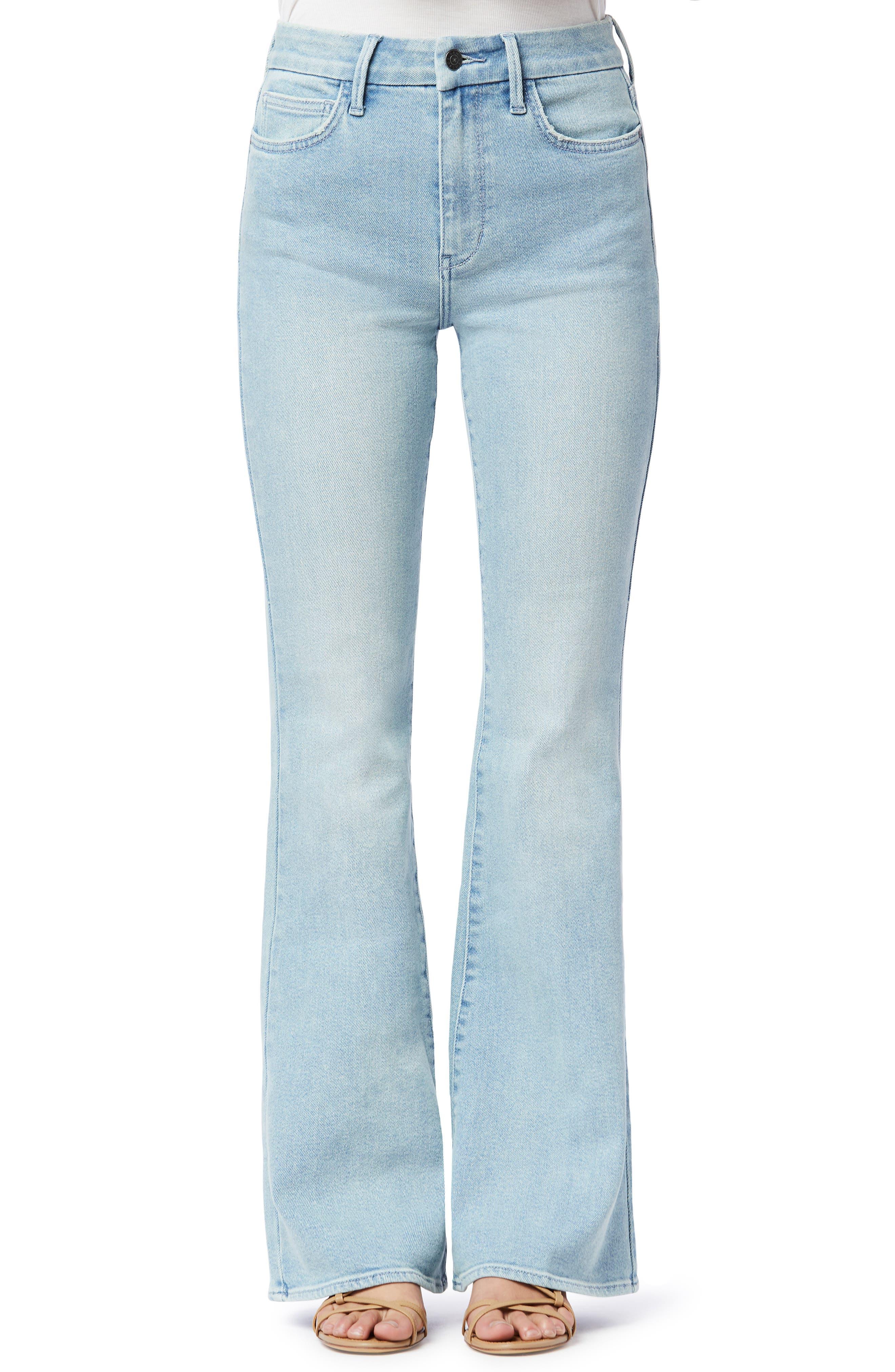 Women's Sam Edelman The Stiletto High Waist Flare Leg Jeans