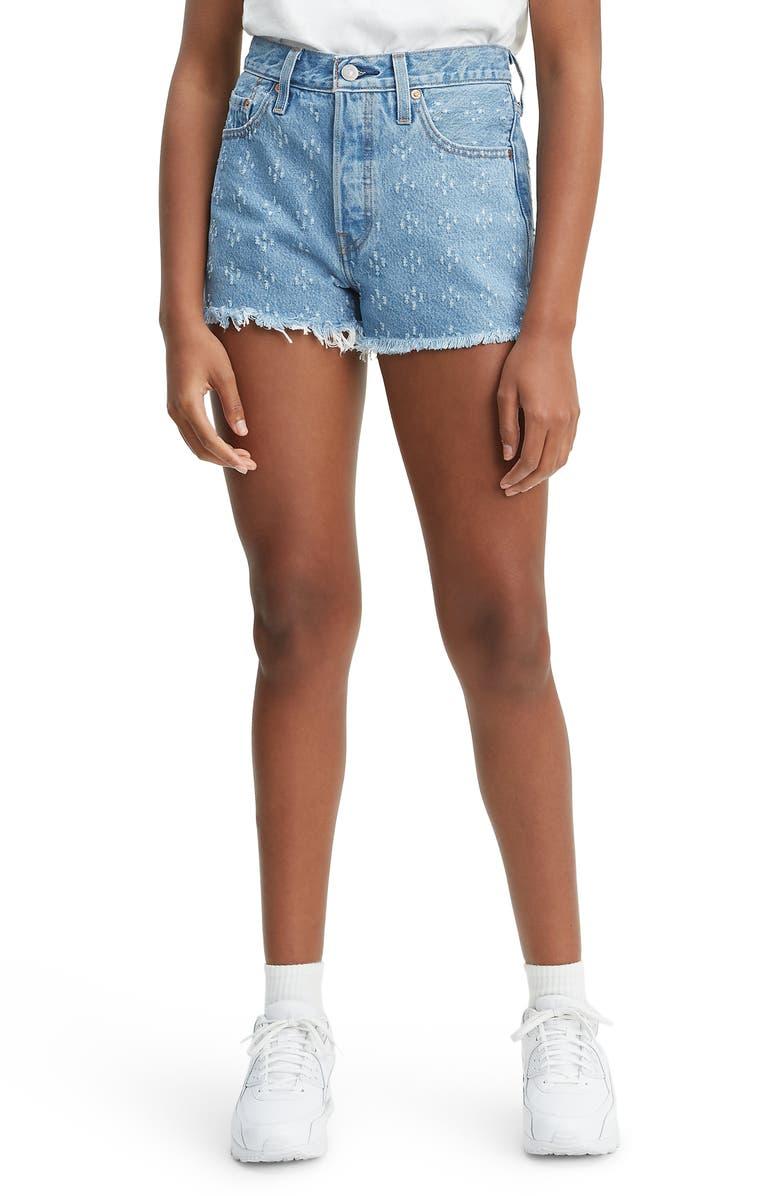 Julkaisupäivä: suosittu tuotemerkki ostaa halpaa 501® High Waist Cutoff Denim Shorts