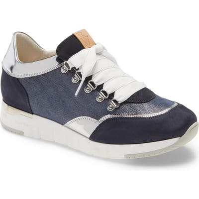Ron White Zorina Lace-Up Sneaker, Blue