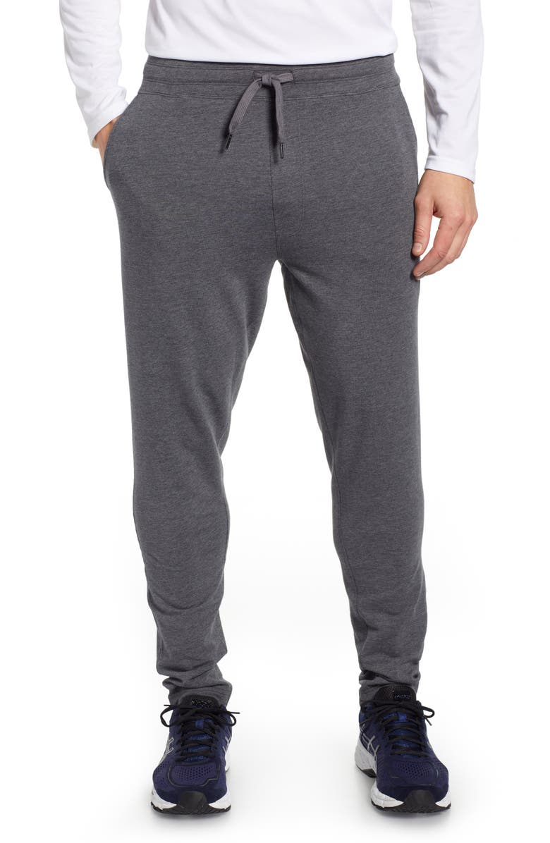 TASC PERFORMANCE Legacy II Sweatpants, Main, color, BLACK HEATHER