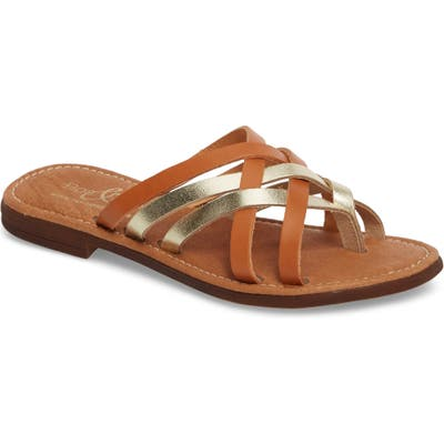 Bos. & Co. Inola Slide Sandal - Brown