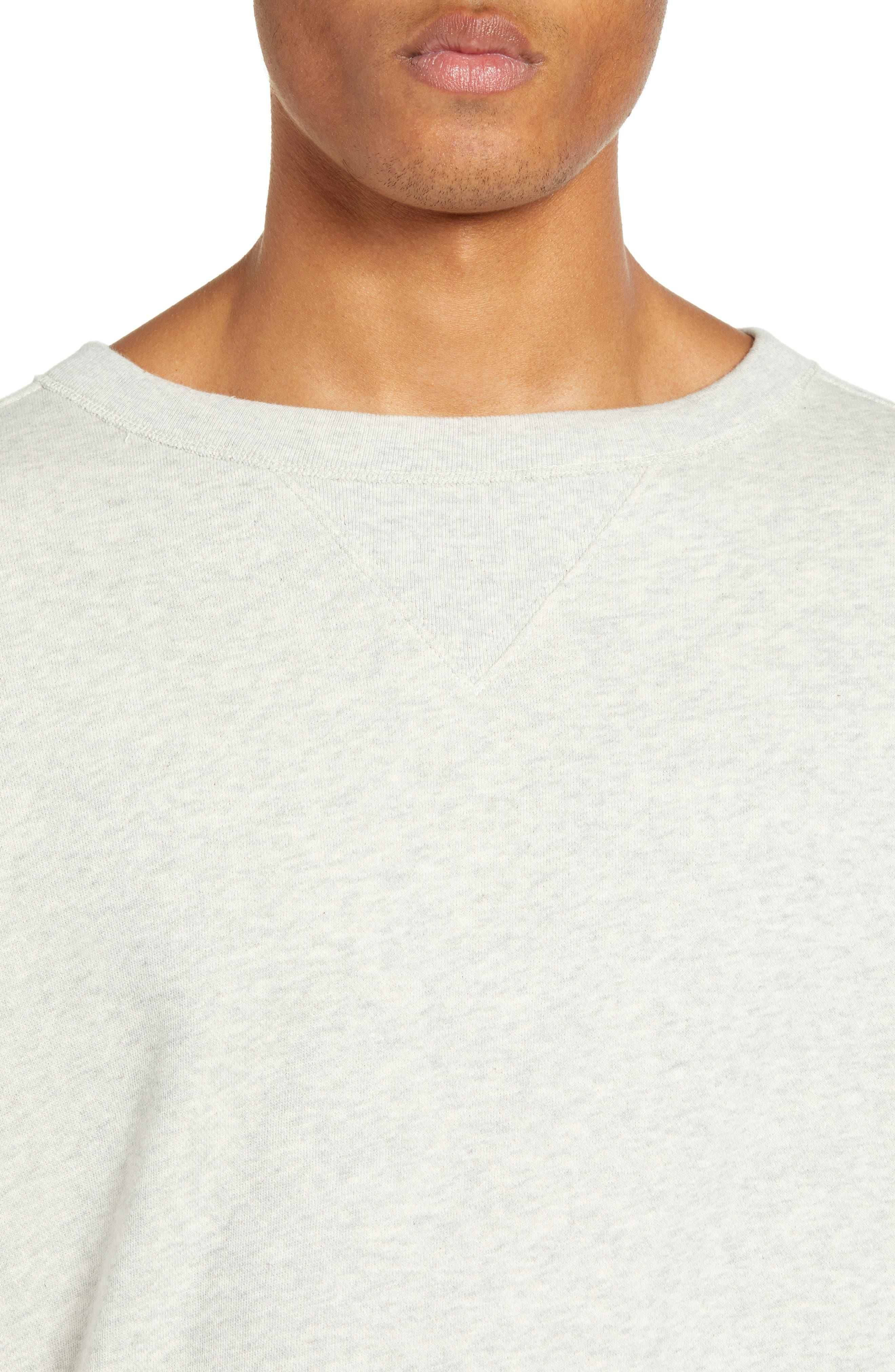 ,                             1930s Bay Meadows Sweatshirt,                             Alternate thumbnail 4, color,                             OATMEAL