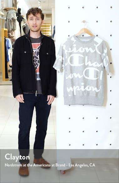 Life<sup>®</sup> Reverse Weave Script Fleece Pullover, sales video thumbnail