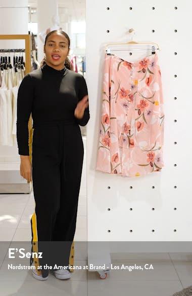 Floral Chiffon Skirt, sales video thumbnail