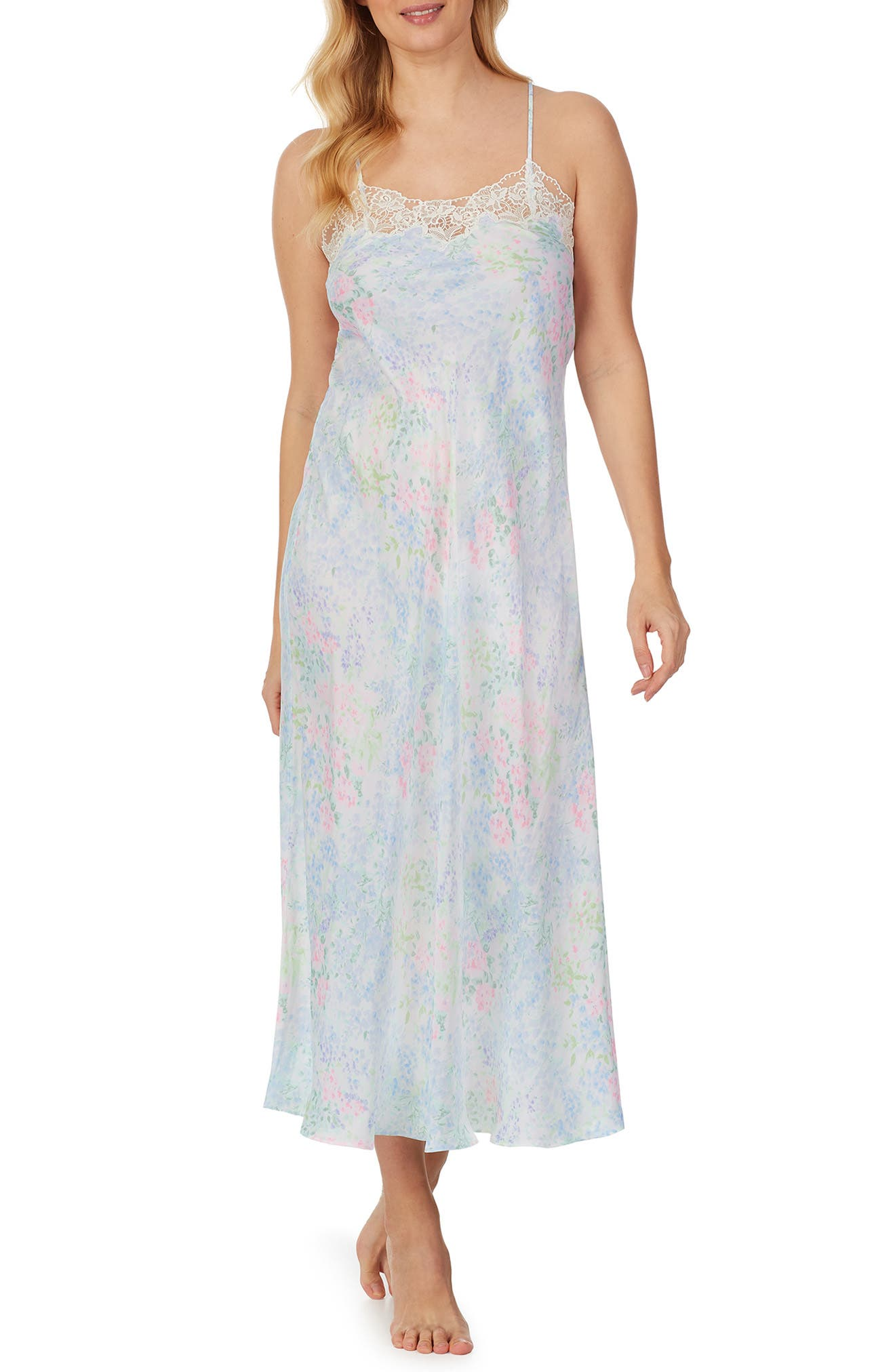Ballet Satin Nightgown