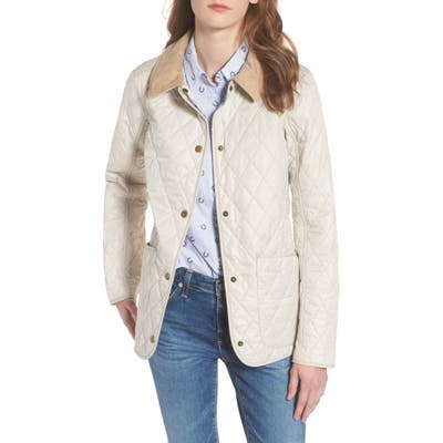 Barbour Spring Annandale Quilted Jacket, US / 12 UK - Beige